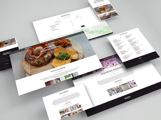 Restoran Royal - Izrada web stranice