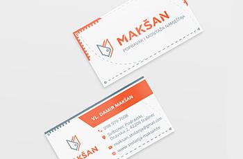 Stolarija Makšan - logo