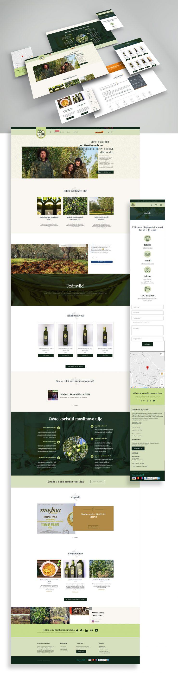 OPG Rakovac - Izrada web stranice