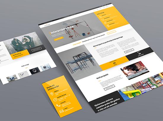 Interprojekt - izrada web stranice Burza ideja