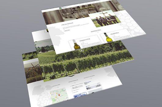 Vina Preiner - Izrada web stranice
